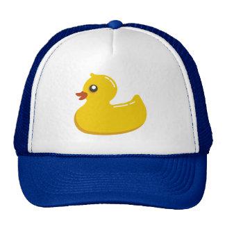 Cute Rubber Ducky Blue Bubbles Mesh Hat
