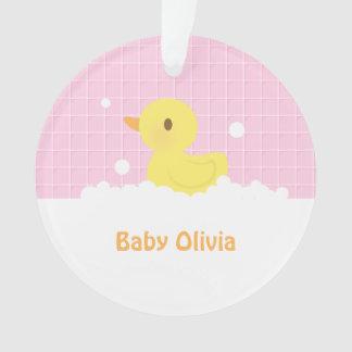 Cute Rubber Ducky in Bath Nursery Decor Ornament