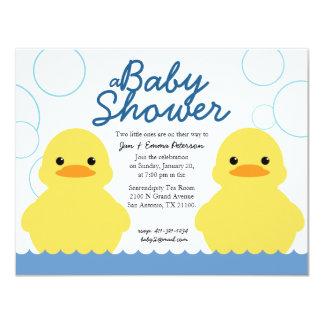 Rubber Ducky Baby Shower Invitations Announcements Zazzle