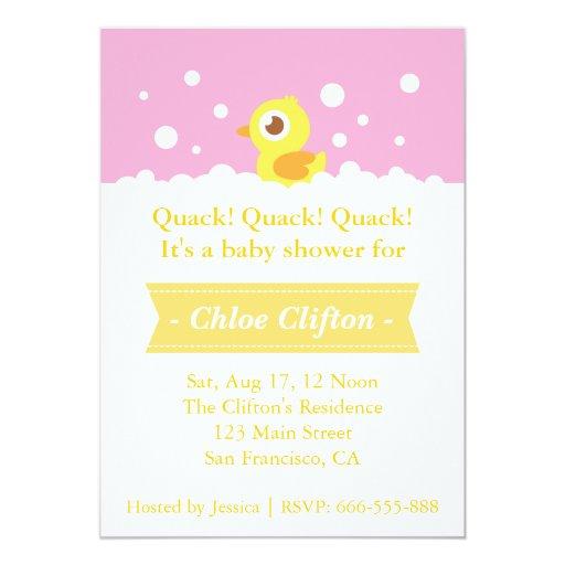 Ducky Invitations Baby Shower is beautiful invitation ideas