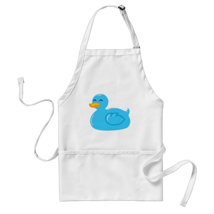 Cute Rubberducky Adult Apron
