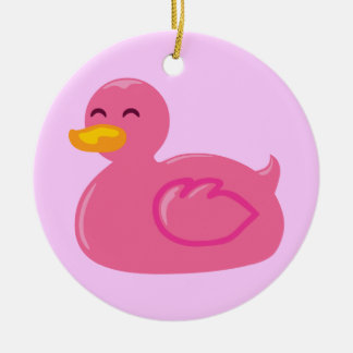 Cute Rubberducky Ceramic Ornament