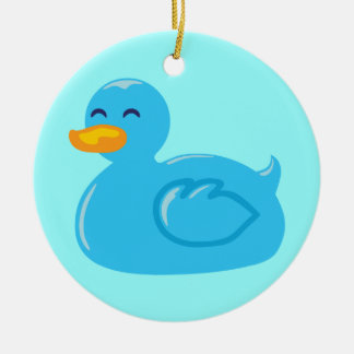 Cute Rubberducky Ceramic Ornament
