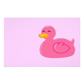 Cute Rubberducky Personalized Stationery