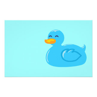 Cute Rubberducky Stationery Paper
