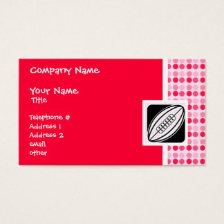 Cute Rugby Business Card