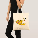 Cute Running Cartoon Cheetah Tote Bag