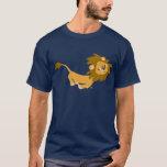 Cute Running Cartoon Lion T-Shirt