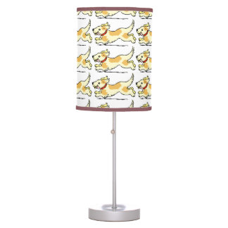 CUTE RUNNING PUPPY TABLE LIGHT GIFT TABLE LAMP