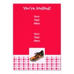 Cute Running Shoe 5x7 Paper Invitation Card