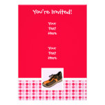 Cute Running Shoe Custom Invite
