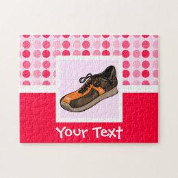 Cute Running Shoe Jigsaw Puzzle