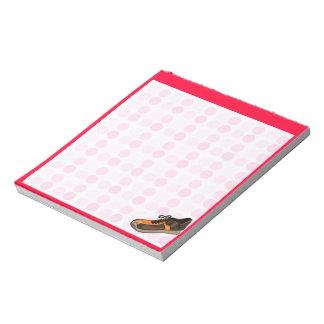 Cute Running Shoe Memo Note Pad