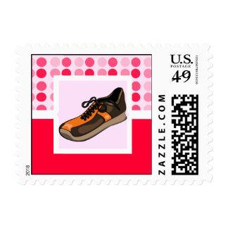Cute Running Shoe Stamp