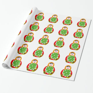 cute Russian nested doll Gift Wrap
