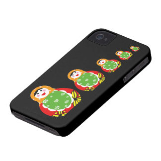 cute Russian nesting doll iPhone 4 Cover