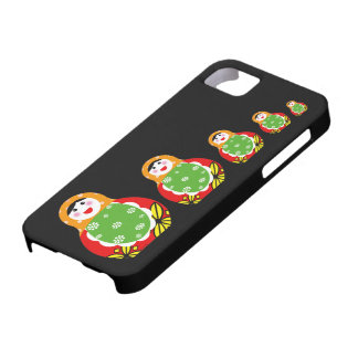 cute Russian nesting doll iPhone 5 Cases