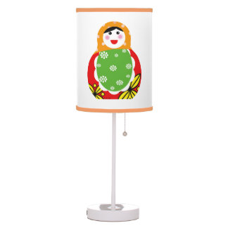 cute Russian nesting doll Table Lamps