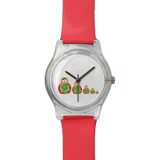 cute Russian nesting dolls Watches
