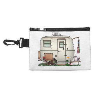 Cute RV Vintage Glass Egg Camper Travel Trailer Accessory Bag