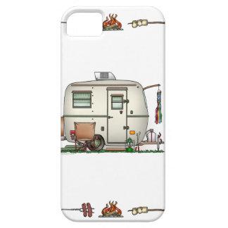 Cute RV Vintage Glass Egg Camper Travel Trailer iPhone 5 Cases