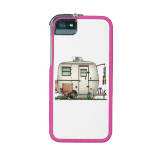 Cute RV Vintage Glass Egg Camper Travel Trailer iPhone 5/5S Case