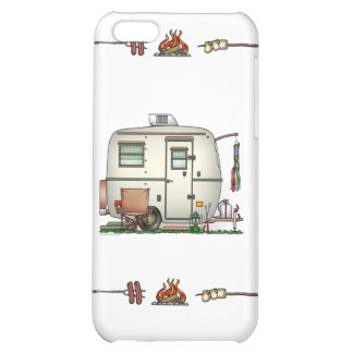 Cute RV Vintage Glass Egg Camper Travel Trailer iPhone 5C Covers