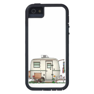 Cute RV Vintage Glass Egg Camper Travel Trailer iPhone SE/5/5s Case