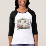 Cute RV Vintage Glass Egg Camper Travel Trailer Shirts