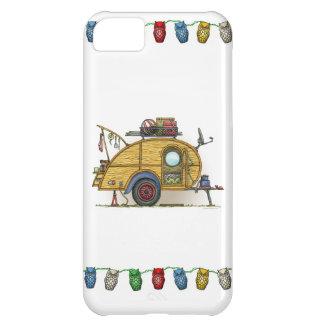 Cute RV Vintage Teardrop  Camper Travel Trailer iPhone 5C Cases