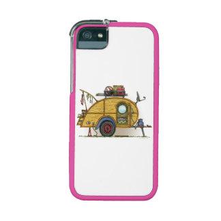 Cute RV Vintage Teardrop  Camper Travel Trailer iPhone 5 Cases