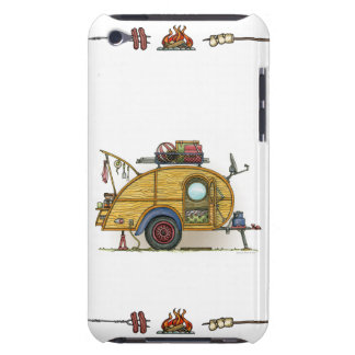 Cute RV Vintage Teardrop  Camper Travel Trailer iPod Touch Cover