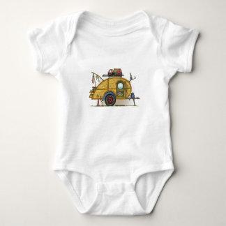 Cute RV Vintage Teardrop  Camper Travel Trailer Shirt