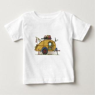 Cute RV Vintage Teardrop  Camper Travel Trailer Tee Shirt