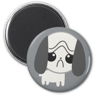 Cute Sad Pug Puppy Magnet