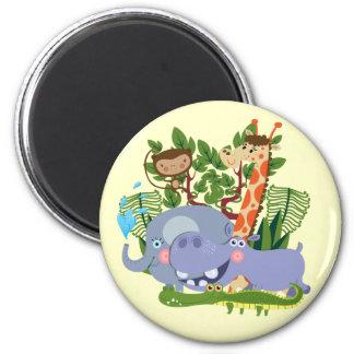 Cute Safari Animals Magnet