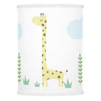Cute Safari Animals Nursery Lamp Shade