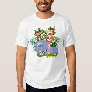 Cute Safari Animals T-Shirt