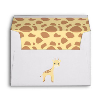 Cute Safari Birthday Envelope