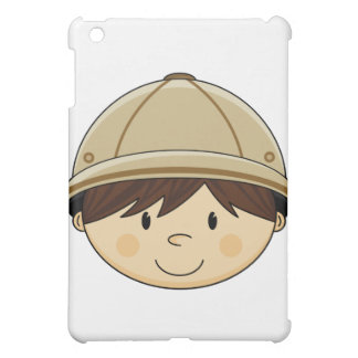 Cute Safari Boy ipad Case