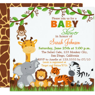 safari baby shower invitations 1000 safari baby shower announcements