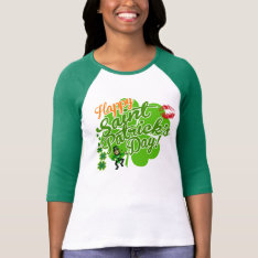 Cute Saint Patrick's Day T-shirt at Zazzle