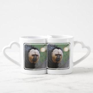 Cute Saki Monkey Lovers Mug Sets