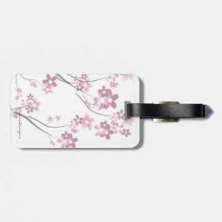 Cute Sakura Kokeshi Doll Bag Tag