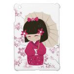 Cute Sakura Kokeshi Doll iPad Mini Case