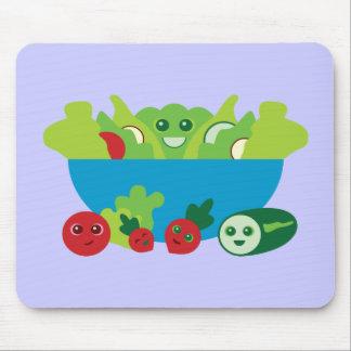 Cute Salad Mouse Pad