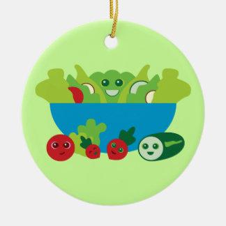 Cute Salad Ornaments