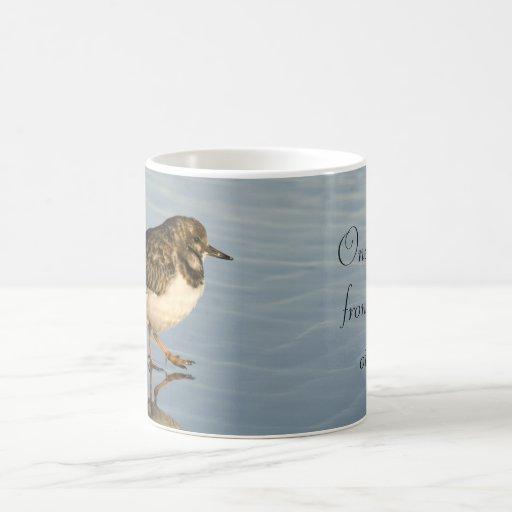 Cute Sandpiper Bird Motivational Mug