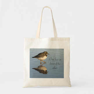 Cute Sandpiper Bird Tote Bag