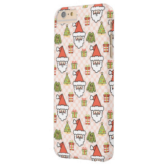 Cute Santa Barely There iPhone 6 Plus Case